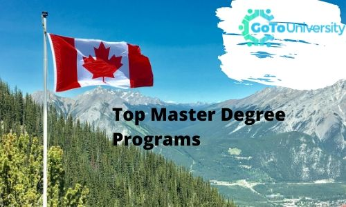 Top Master Degree Programs in Canada, Canada